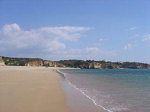 Beach of Praia Grande, Ferragudo, Lagoa, Algar...