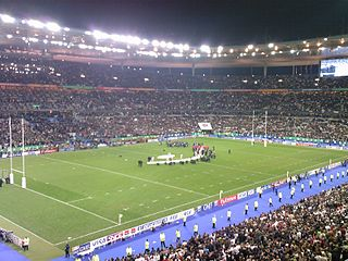 2007 Rugby World Cup Final rugby union match, played on Saturday, 20 October 2007