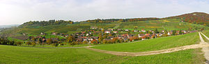 Wilchingen - Osterfingen village near Wilchingen