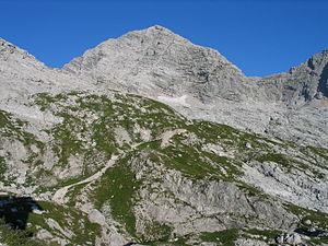 Birnhorn - Image: 20090802 Birnhorn von Passauer Hütte