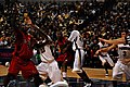 20091219 Purdue Boilermakers boxing out.jpg