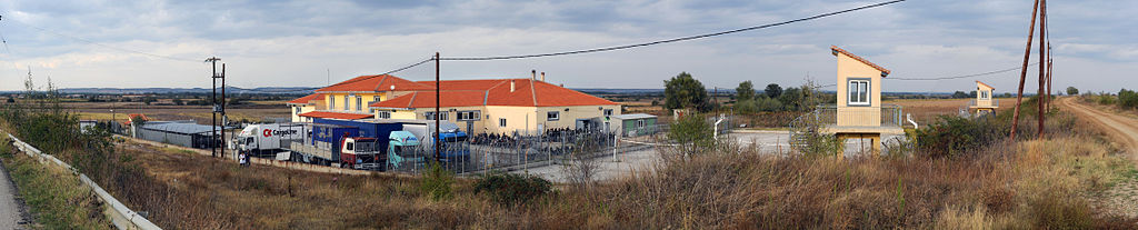 20101009 Fylakio detention center for immigrants refugees Thrace Evros Greece