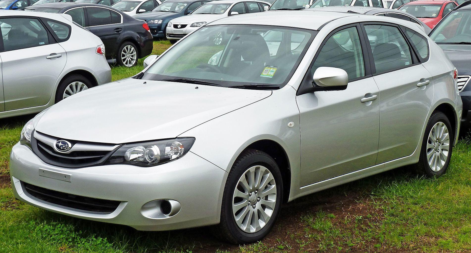 Subaru Impreza 3 хэтчбэк