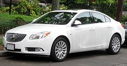 Una Buick Regal del 2011