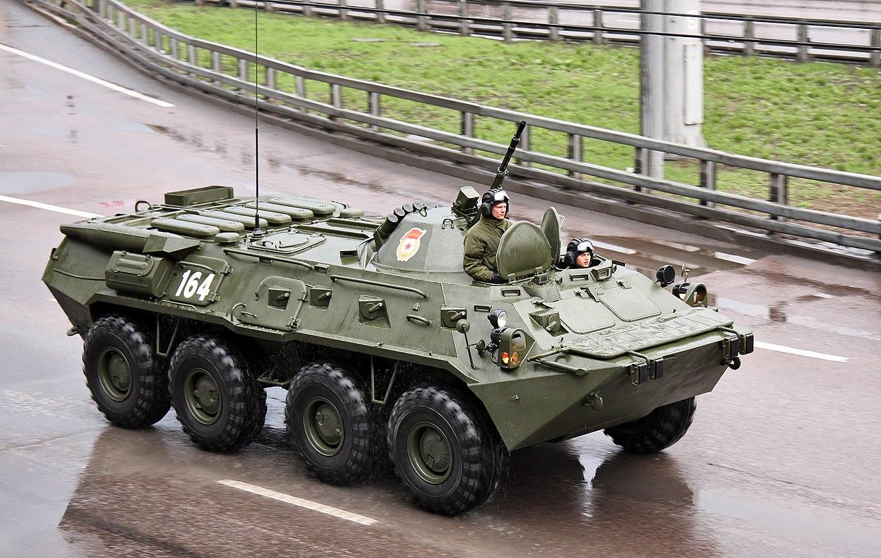 Хитрые поляки против русского БТР-80