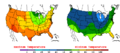2012-09-19 Color Max-min Temperature Map NOAA.png
