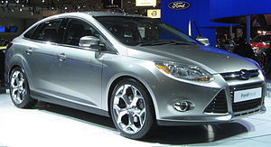 2012 Ford Focus photographed at the 2010 Washi...