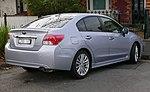 2012 Subaru Impreza (GJ7 MY12) 2.0i-S sedan (2015-07-14) (cropped).jpg