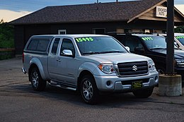 2012 Suzuki Equator Pick-Up (35681869275).jpg