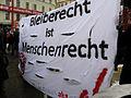 2013-02-16 - Wien - Demo Gleiche Rechte für alle (Refugee-Solidaritätsdemo) - aks - Bleiberecht ist Menschenrecht.jpg