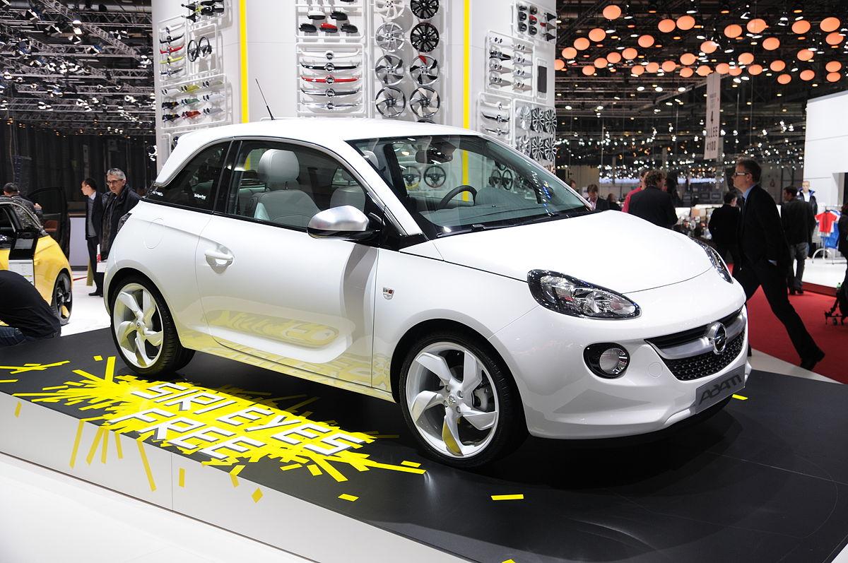 Geneva Motor Show >> Opel Adam – Wikipédia