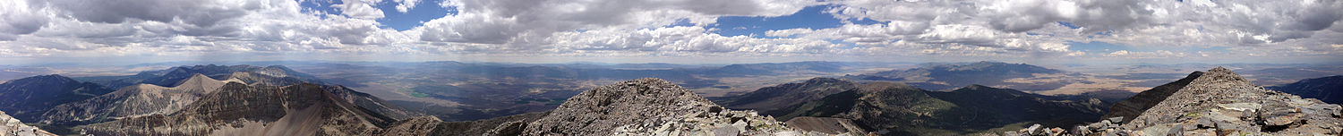 Wheeler Peak view