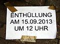 2013-09-15 Gedenktafel Neue Synagoge Hannover (02).JPG