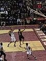 20130103 Offensive Rebound Trey Burke miss.jpg