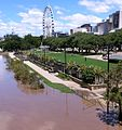 2013 Brisbane Flood - Brisbane Wheel from Victoria Bridge.jpg