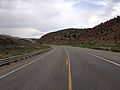 2014-08-11 10 19 52 View west along U.S. Route 50 about 64.8 miles east of the Eureka County line near Ely, Nevada.JPG