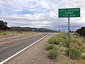 2014-08-11 13 57 57 View east along U.S. Route 50 about 24.9 miles east of the Eureka County line at Little Antelope Summit, Nevada.JPG