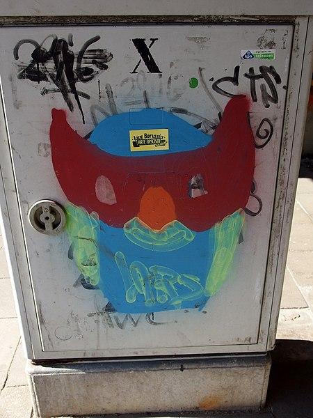 File:20150312 Maastricht; Graffiti at Kennedybrug 04.jpg