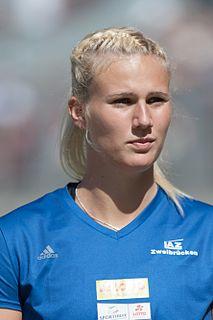 Christin Hussong German javelin thrower