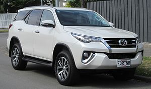 Toyota Kirloskar Motor - Toyota Fortuner