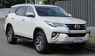 Toyota Fortuner Mid-size SUV