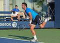 2015 US Open Tennis - Qualies - Jose Hernandez-Fernandez (DOM) def. Jonathan Eysseric (FRA) (20957345672).jpg