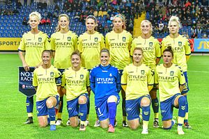 Brøndby IF (women) - Image: 20161005 UWCL St Poelten vs Broendby 6350
