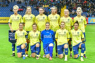 Brøndby IF (women) - Image: 20161005 UWCL St Poelten vs Broendby 6350