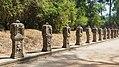 2016 Angkor, Preah Khan, Rzeźby przy drodze do świątyni (01).jpg