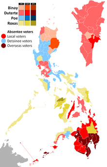 2016 Philippine Presidential Election Wikipedia