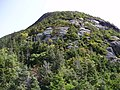 2017-09-11 11 40 45 View east along the Maple Ridge Trail at about 3,580 feet above sea level on the western slopes of Mount Mansfield within Mount Mansfield State Forest in Stowe, Lamoille County, Vermont.jpg