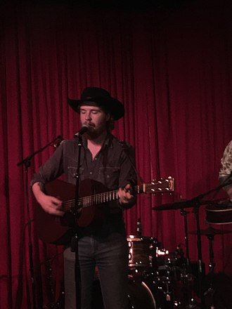 Colter Wall - Wall at the Hotel Café, Hollywood in 2017