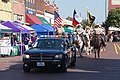 2017 Bois d'Arc Bash parade 01 (Hunt County Sheriff Dodge Charger and Hunt County Sheriff's Posse).jpg