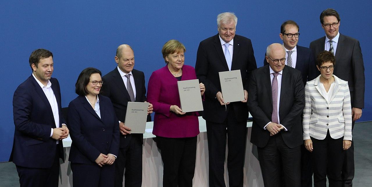 2018-03-12 Unterzeichnung des Koalitionsvertrages der 19. Wahlperiode des Bundestages by Sandro Halank–011.jpg