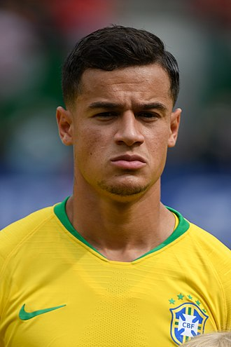 Philippe Coutinho - Coutinho with Brazil in 2018