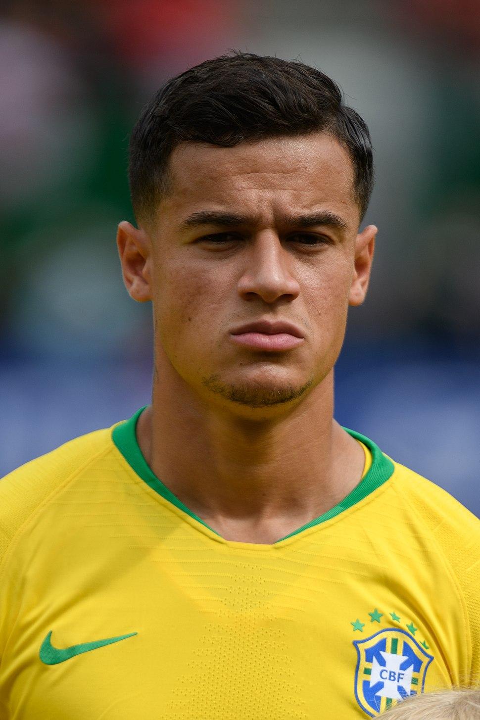 20180610 FIFA Friendly Match Austria vs. Brazil Philippe Coutinho 850 1692