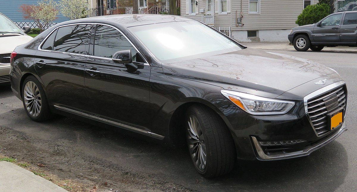 Hyundai Genesis 2018 >> Genesis G90 - Wikipedia
