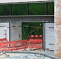 2018 Woolwich Crossrail Station construction site 07.jpg