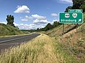 2019-06-06 09 35 15 View south along Interstate 81 at Exit 296 (U.S. Route 48, Virginia State Route 55, Strasburg) in Capon Road, Shenandoah County, Virginia.jpg