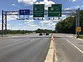 2019-06-14 13 09 09 View south along the Inner Loop of the Baltimore Beltway (Interstate 695) at Exit 34 (Maryland State Route 7-Philadelphia Road, Rosedale) on the edge of Rosedale and Rossville in Baltimore County, Maryland.jpg