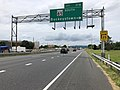 2019-06-18 14 06 49 View north along Interstate 270 (Washington National Pike) at Exit 31B (Maryland State Route 85 SOUTh, Buckeystown) in Ballenger Creek, Frederick County, Maryland.jpg