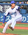 20190601 Taiga Kamichatani, pitcher of the Yokohama DeNA BayStars, at Yokohama Stadium.jpg