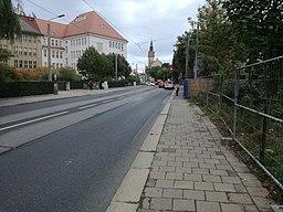 Cossebauder Straße in Dresden