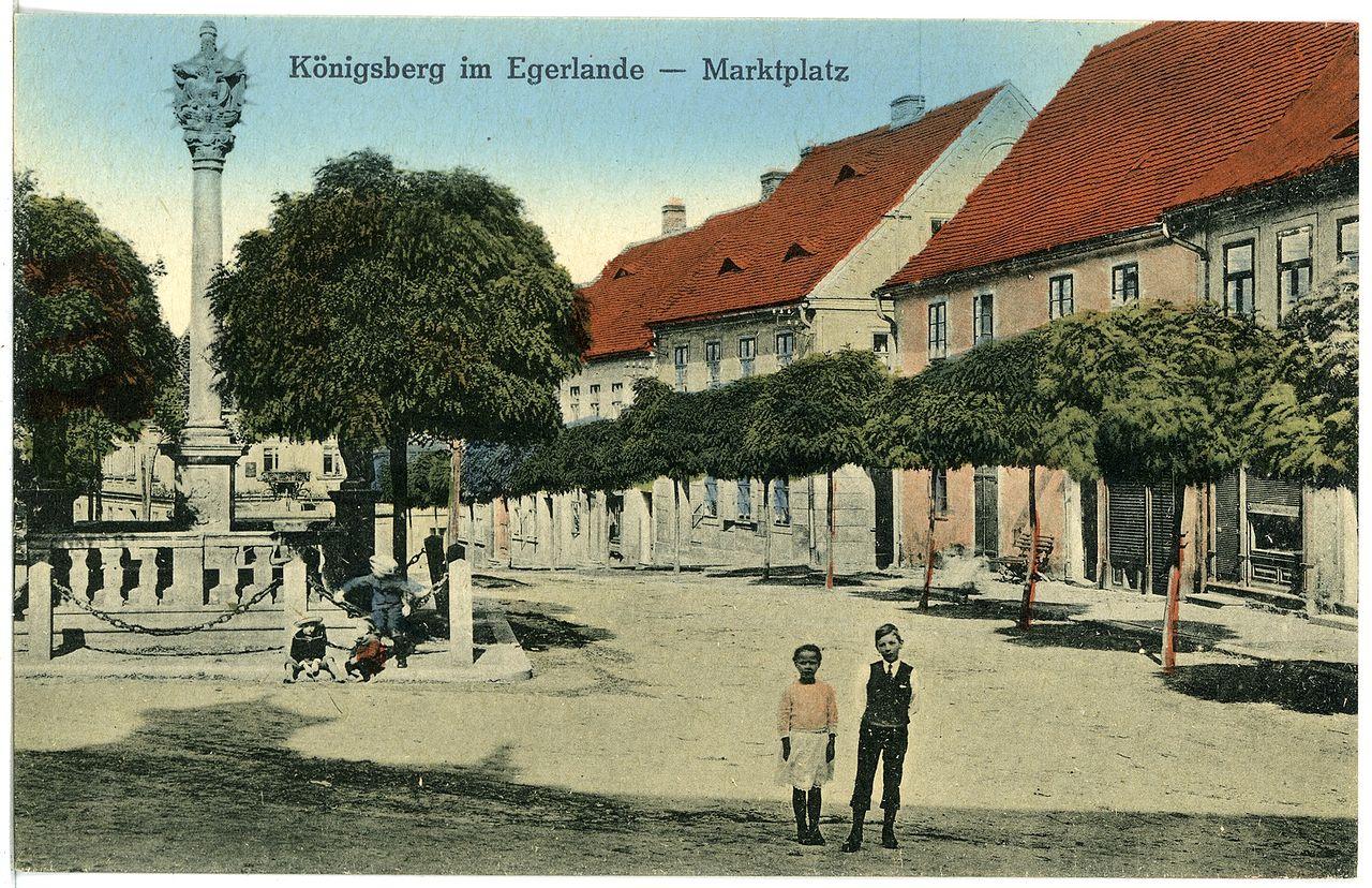 20673-Königsberg a. d. Eger-1917-Marktplatz-Brück & Sohn Kunstverlag.jpg