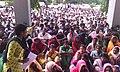 28 May 2017 Narmada BAchao Andolan Dharna at Nandurbar Collector office for rehabilitation.jpg