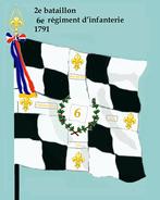 2e bataillon 6e rég inf 1791