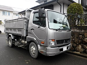 Mitsubishi Fuso Fighter - Image: 2nd generation Mitsubishi Fuso FIGHTER front