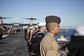 31st MEU Marines man the rails aboard the USS Bonhomme Richard (LHD-6) 150625-M-CX588-123.jpg