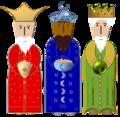 3 heilige Könige - 3 wisemen.png