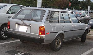 Toyota Corolla photographed in USA.